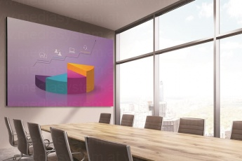 Optoma FHD153169-IF Indoor Videowall  (3x1,7 Meter)