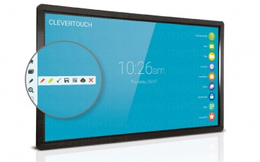 65 Zoll Clevertouch PLUS 4K High Precision Touch