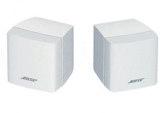Bose Freespace 3 Cubes Surface-Mount Satellites, weiß, per Paar