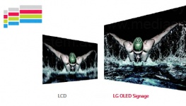 LG 65EE5PC Dual-view Curved Tiling OLED Signage Professional Display / Bild 7 von 8